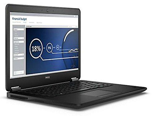 Dell NB Latitude E7450 35,6 cm (14 Zoll) Laptop (Intel Core i5 5300U, 2,9GHz, 8GB RAM, 256GB SSD, Win 7 Pro) schwarz