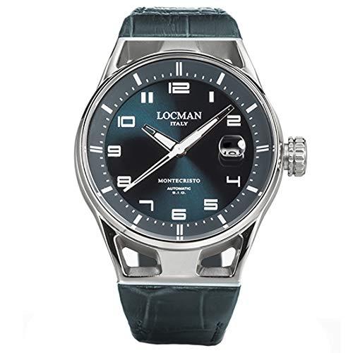 Locman Italy Montecristo - Reloj automático para hombre, color verde 0541