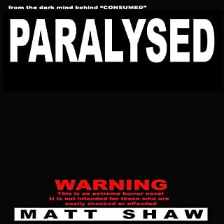 Paralysed audiobook cover art