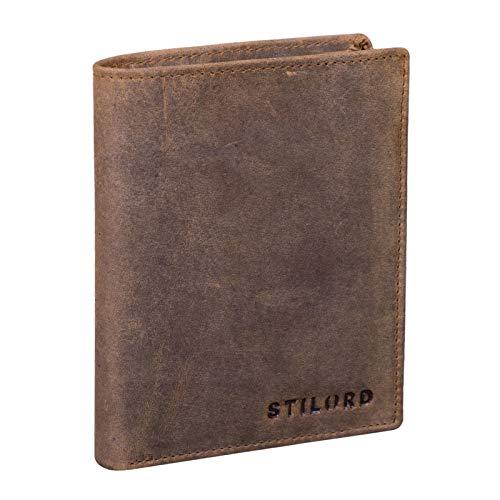 STILORD 'Sawyer' RFID Cartera Hombre Piel Billetera Cuero...