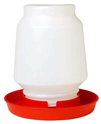 LITTLE GIANT 1-Gallon Plastic Poultry Fount Complete Waterer...