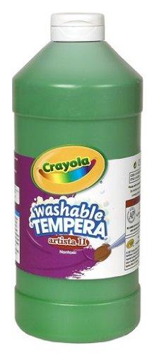 Crayola Peinture Tempera lavable Vert 100 ml