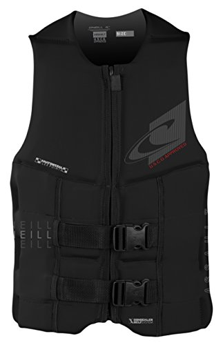 O'Neill Wetsuits Men's Assault USCG Life Vest, Black, X-Large