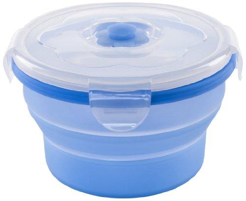 Nuvita Boîte Rétractable en Silicone Bleu 540 ml