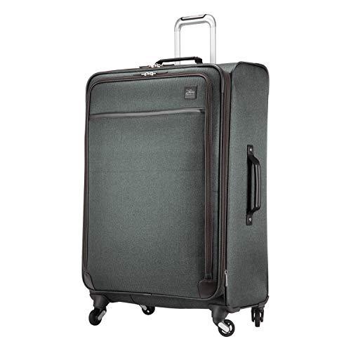 Skyway Eastlake Softside 4-Wheel Luggage Spinner Collection (Dark Grey, 29-Inch)