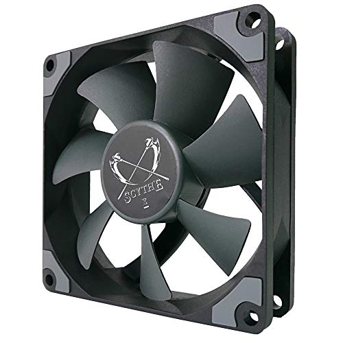 Scythe Kaze Flex 92mm Fan, PWM 300-2300RPM, Quiet Case/CPU Cooler Fan, Single Pack