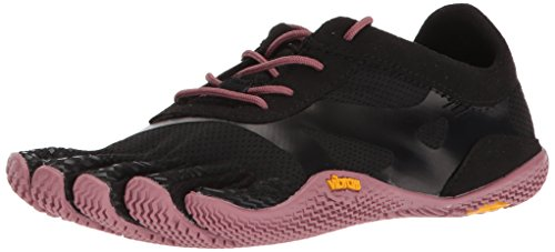 Vibram Women's KSO EVO Black/Rose Cross Trainer, 7.5-8 M B EU (39 EU/7.5-8 US)