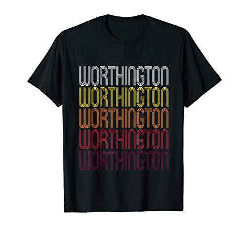 Worthington, IN | Vintage Style Indiana T-shirt