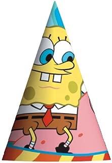 SpongeBob Cone Hats, 8ct