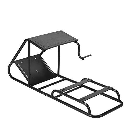 Z ZELUS Cavalletto da Corsa Regolabile Cockpit Racing Simulator Supporto per Videogiochi con Supporto Cambio e Pedale per PS4 PS3 Xbox One Xbox 360 Logitech Thrustmaster senza Sedile da Corsa