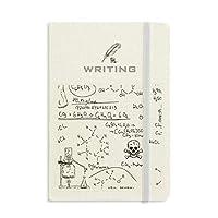 計算有機化学実験 ノートブッククラシックジャーナル日記A 5を書く
