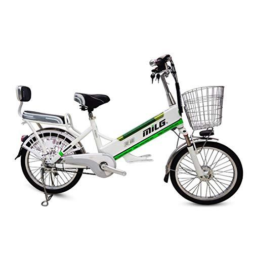 lvbeis Adulti Bicicletta Elettrica Mountain Bici Pedalata Assistita City Bike Portatile velocità Fino A 20 Km/h E-Bike da Strada