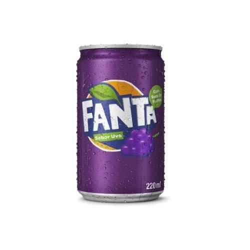 Refrigerante Fanta Uva Mini 220Ml