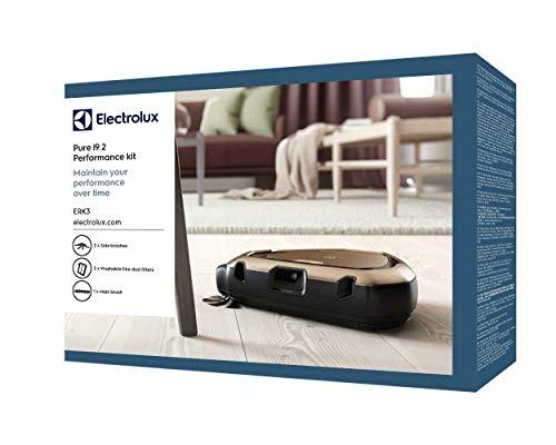 Kit d'entretien et de performance ERK3 pour aspirateur robot Electrolux Purei9.2 - Contient : 1 brosse principale - 3 brosses latérales PowerBrush™ - 3 filtres XXL lavables.