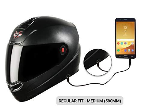 Steelbird SBA-1 7Wings HF Dashing Full Face Helmet with Smoke Visor and...