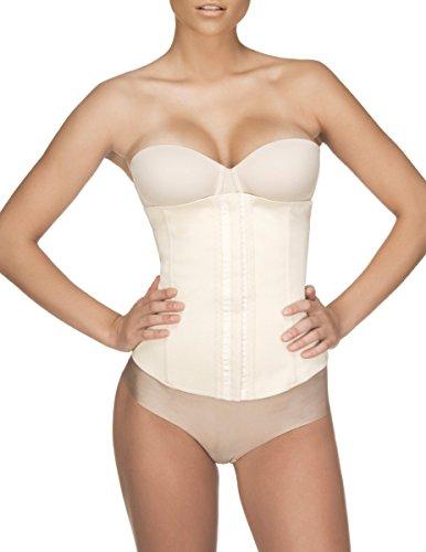 Vedette Valerie Faja de compresión firme para reducir la cintura 103 - beige - X-Small