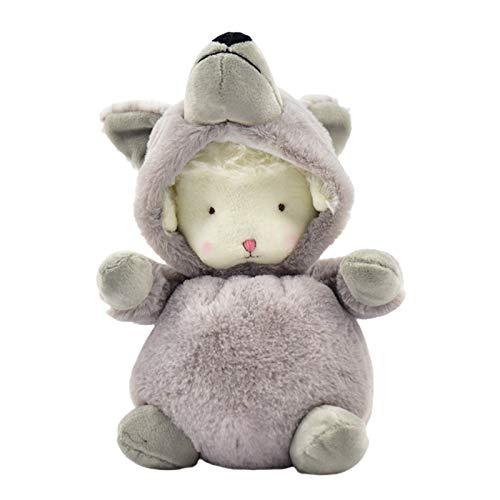 GRASARY Muñeca de juguete con diseño de dibujos animados, ideal como regalo de cumpleaños infantil