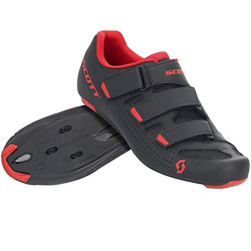 Scott Road Comp Rennrad Fahrrad Schuhe schwarz/rot 2021: Größe: 45