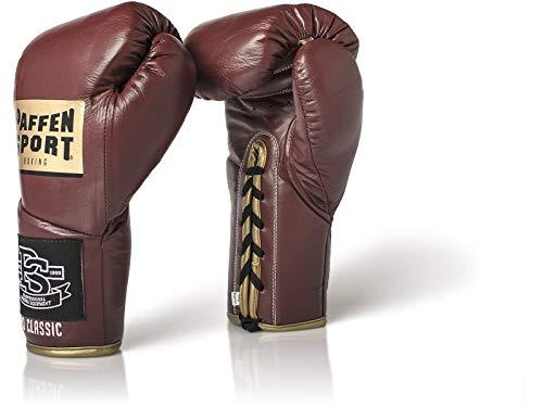Paffen Sport «Pro Classic» Profi-Boxhandschuhe – Vintage rot – 10UZ