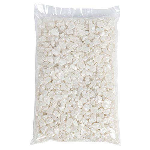 1 kg piedras decorativas de cristal 4-10mm nácar ecthelium