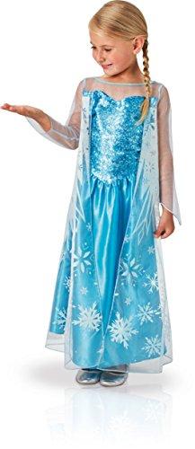 Rubie's - Déguisement Officiel - Disney - La Reine des Neiges - Déguisement Classique Elsa - Taille M - I - 620975M