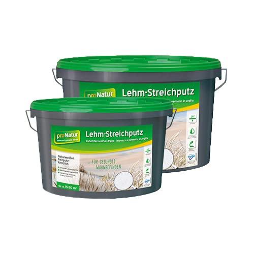 proNatur Lehm-Streichputz Innen Wand & Decke fein atmungsaktiv 7kg