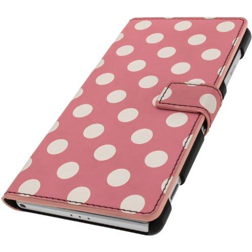 iGadgitz U2820 Funda Compatible con teléfono móvil Folio Rosa - Fundas Compatible...