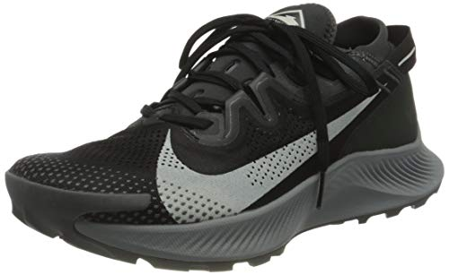 Nike Pegasus Trail 2, Scarpe da Corsa Uomo, Black/Spruce Aura-Dk Smoke Grey-Particle Grey-Iron Grey, 43 EU