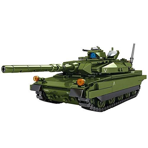 TOPD Montaje de Tanques de Bloques de construcción de Montaje, Juego de construcción de Tanques Militares alemán 806pcs, insertando Juguetes de cumpleaños Adultos y niños