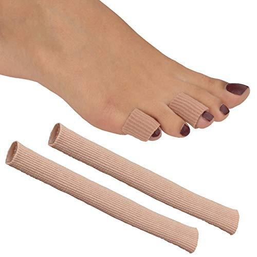 Great Ideas Schlauchbandagen für Zehen/Finger, Gel, 2 Stück