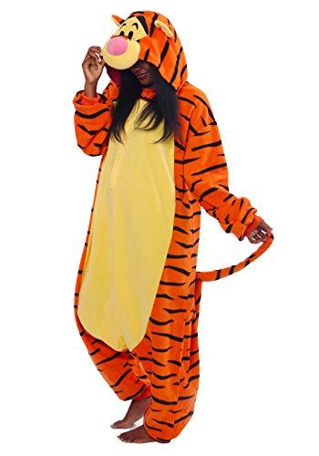 Kigurumi Pyjama Chat de Minuit 2725, Multicolore, tailles unique 1m50 et 1m85