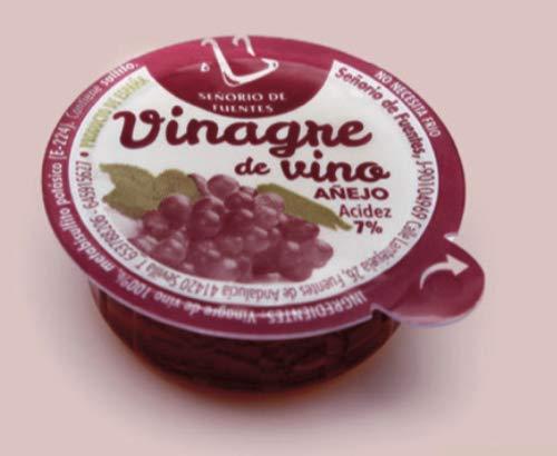 Vinagre de vino añejo. 400 monodosis de 10ML