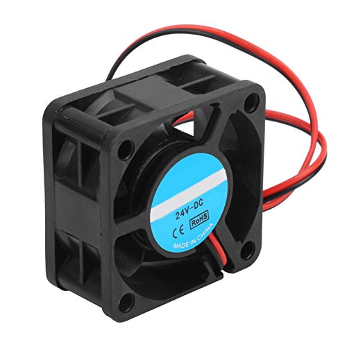 Hilitand 4Pcs 24V Accessori per ventole di raffreddamento per stampanti 3D Dissipazione del calore con albero a olio Accessori per stampanti 3D 4020
