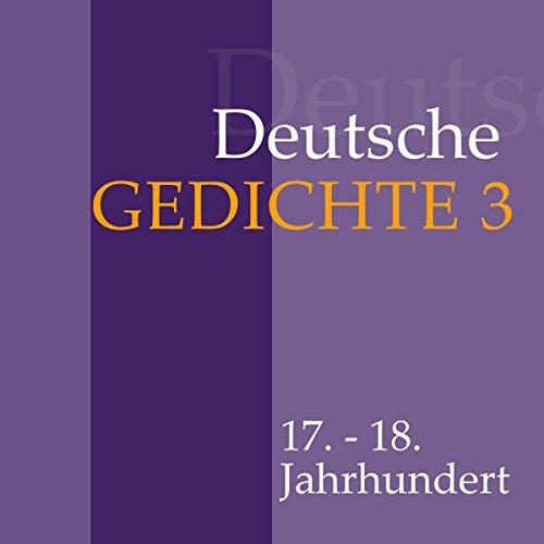 Deutsche Gedichte 3 - 17. - 18. Jahrhundert Titelbild