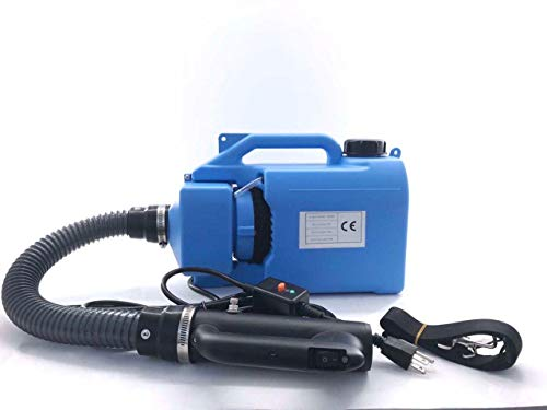 Massimiliano Incas Electric ULV Fogger Portable Disinfection Electrostatic Sprayer Aerosol Atomizer,Capacity Aerosol Range 8-10 Meters, for Home and Public Places, Such As Hotels, 110V