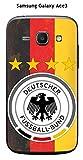 Onozo Cover Samsung Galaxy Ace 3Design Calcio Germania Sfondo Bandiera