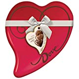 DOVE Valentine's Assorted Chocolate Candy Heart Gift Box 8.13-Ounce 24-Piece Tin