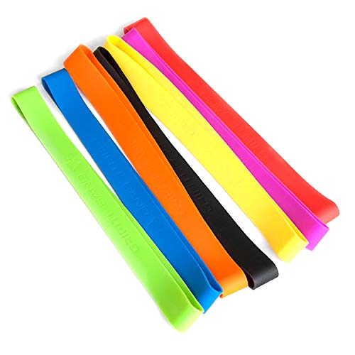 Grifiti Band Joes 12 Inch 10 Assorted Pack Silicone Rubber Bands Heat Cold UV Chemical Resistant Books, Board Game Boxes, Puzzles, Art, Cooking, Wrapping, Exercise, Bag Wraps, Fidget Bands, Foot Bands