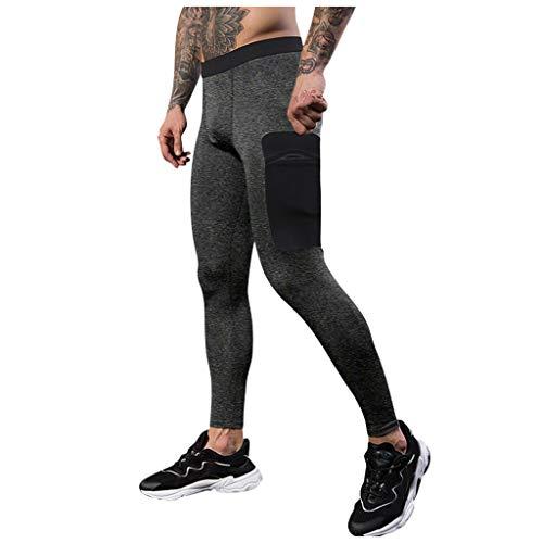 Herren Hose Leggings lang Unterhose Elastic Compression Pants Hose Freizeithose Sporthose Jogginghose Jogger Trainingshose Strumpfhose Männer Sporthosen Herrenleggings