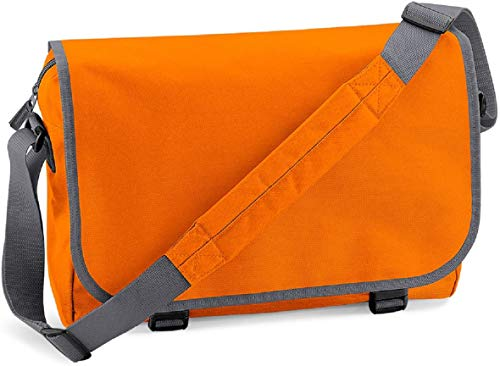 Bagbase Reportertasche Orange/ Grafitgrau