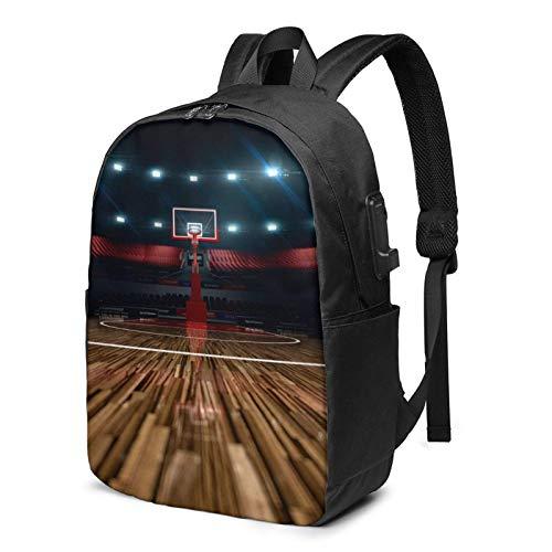 Usb Mochila Profesional Baloncesto Arena Portátil Mochila Fit 17 Pulgadas Portátiles Para Hombres/Mujeres