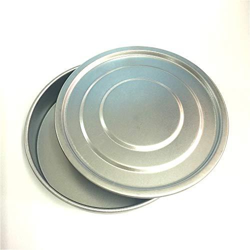 FSM colador, 1set Tapa y el Fondo for la Prueba de tamiz Dia 10 cm galvanizado Cubierta y del envase for Laboratorio de muestreo Inspección Farmacopea Tamiz