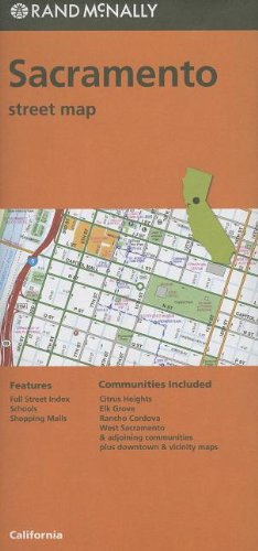 Rand McNally Sacramento Street Map Nevada