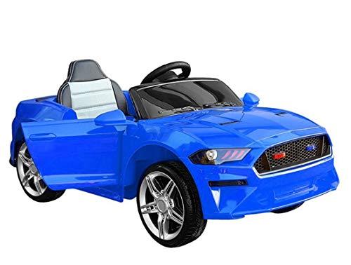 fit4form Kinder Elektroauto GT Raptor Blue Sports Cabrio Racer 12 V Kinderfahrzeug Kinderauto elektrisch