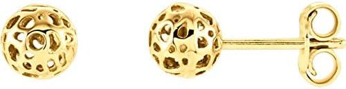 14K Yellow Gold Ball Earrings Ball Earrings
