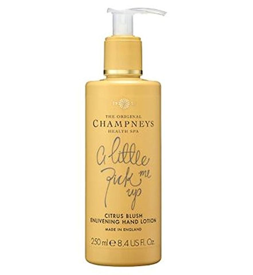 良い幸運な成熟したチャンプニーズシトラス赤面盛り上げハンドローション250ミリリットル (Champneys) (x2) - Champneys Citrus Blush Enlivening Hand Lotion 250ml (Pack of 2) [並行輸入品]