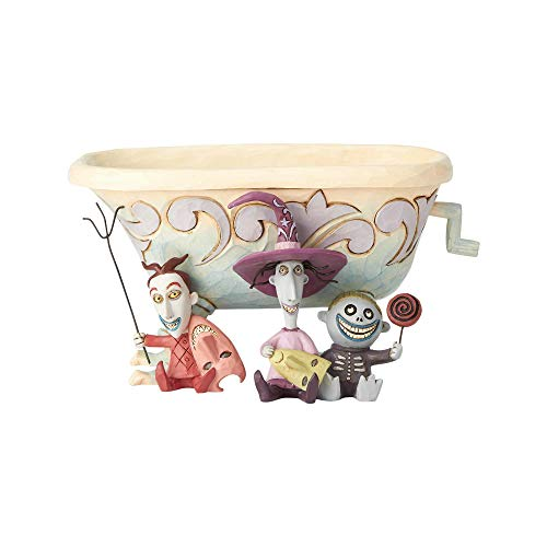 Enesco Disney Tradition 6000953 - Lock, Shock y Barrel, Nightmare Before Christmas