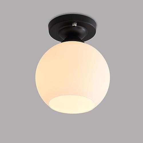 QFFL xidingdeng Plafond de couloir de mode de style européen rétro allées créatives d'allée simple vestiaire qui a comHommescé la lampe économiseuse d'énergie de balcon (Couleur   D)