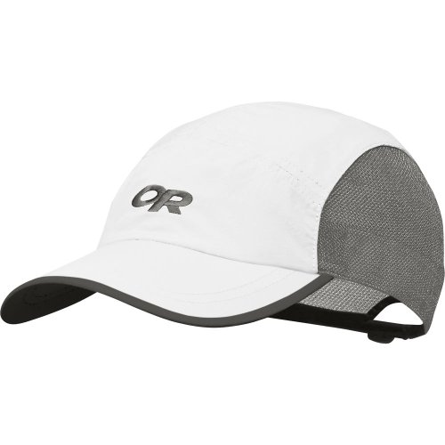 Outdoor Research Swift Cap - Ultimate Training Breathable Sun Hat White/Light Grey
