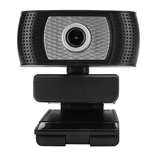 Shipenophy Cámara Webcam Full HD de Escritorio Multifuncional 720P USB2.0 con micrófono